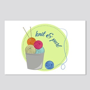 Knit & Pure Postcards (Package of 8)