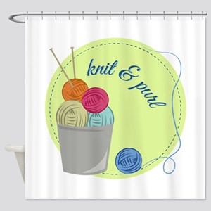 Knit & Pure Shower Curtain