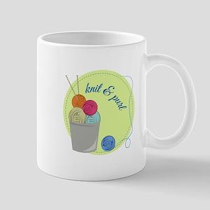 Knit & Pure Mugs