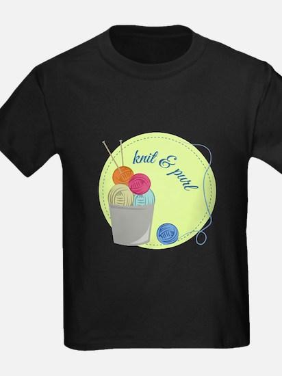 Knit & Pure T-Shirt