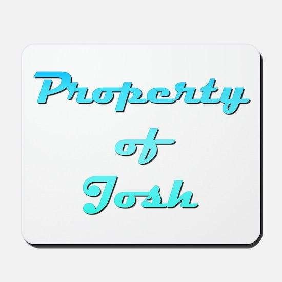 Property Of Josh Male Mousepad