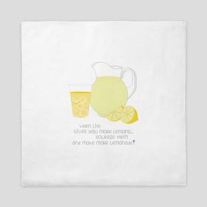 When Life Gives You More Lemons... Queen Duvet