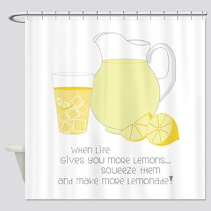 When Life Gives You More Lemons... Shower Curtain