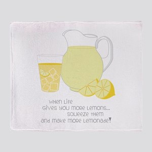 When Life Gives You More Lemons... Throw Blanket