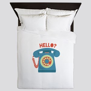 Hello? Queen Duvet