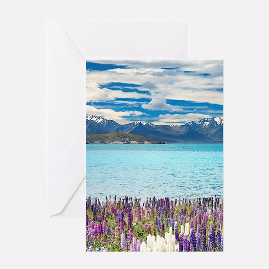 New Zealand Landscape Greeting Cards