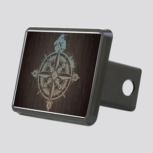 Nautical Compass Hitch Cover