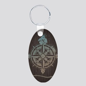 Nautical Compass Keychains