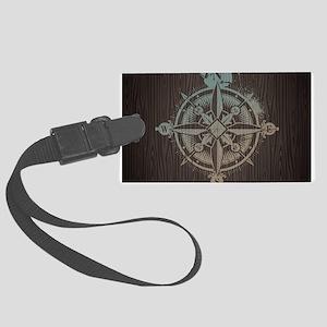 Nautical Compass Luggage Tag