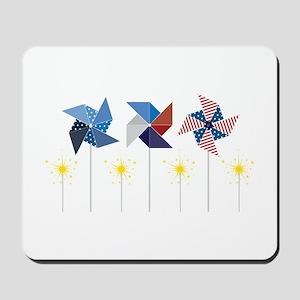 Pinwheels & Sparklers Mousepad