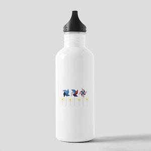 Pinwheels & Sparklers Water Bottle