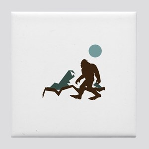 Big Foot Tile Coaster