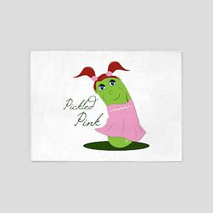 Pickled Pink 5'x7'Area Rug