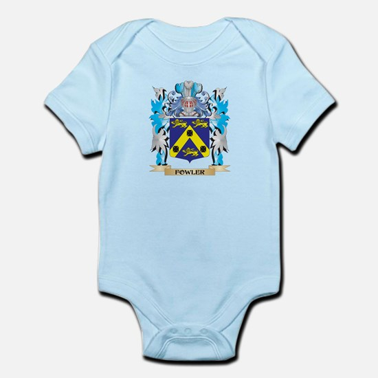 Fowler Coat of Arms - Family Crest Body Suit