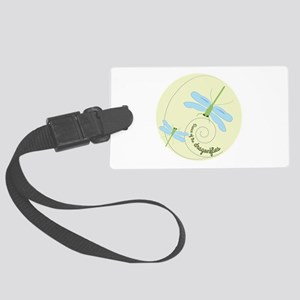Dance of the dragonflies Luggage Tag