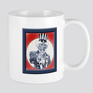 Uncle Sam Wants You Mug