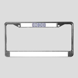 CISCO University License Plate Frame