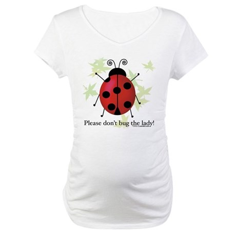 Ladybug, Ladybug Maternity T-Shirt