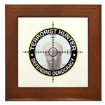 Terrorist Framed Tile