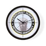 Terrorist Wall Clock
