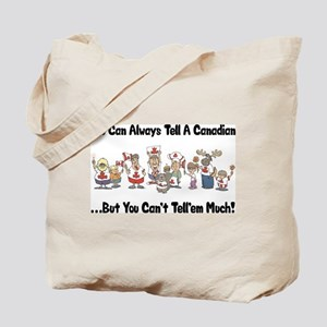 Funny Canadian Tote Bag