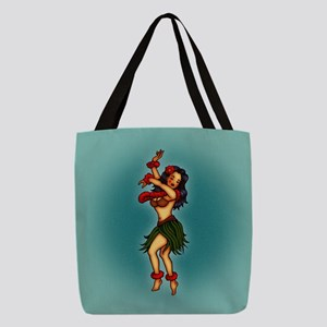 tat-hula_b.jpg Polyester Tote Bag