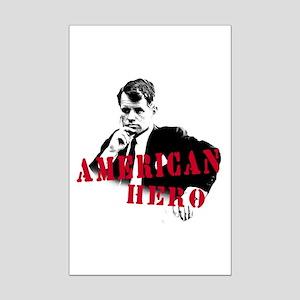 RFK American Hero Mini Poster Print