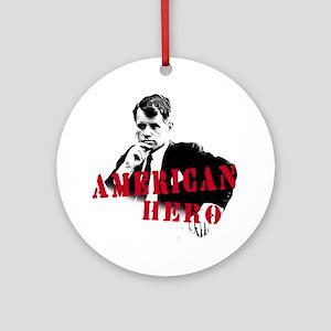 RFK American Hero Ornament (Round)