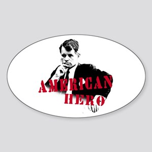 RFK American Hero Oval Sticker