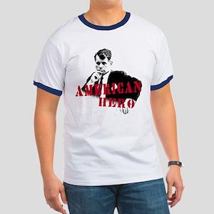 RFK American Hero Ringer T