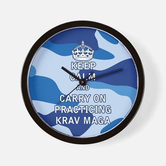 Keep Calm and Carry On Practicing Krav Maga Wall C