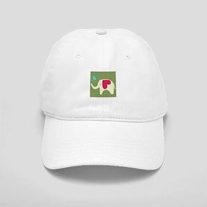 Love Elephant Baseball Cap