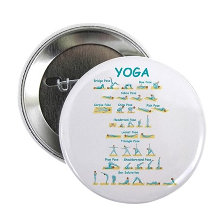 Yoga Poses Button