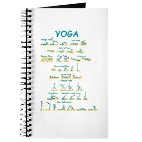 Yoga Poses Journal