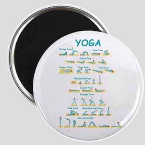 Yoga Poses Magnet