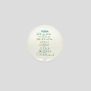 Yoga Poses Mini Button