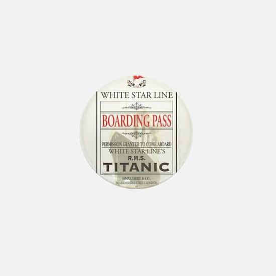 Cute Titanic Mini Button