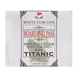 Titanic Fleece Blankets
