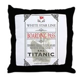 Titanic Cotton Pillows