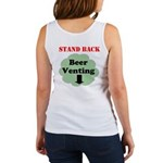 Stand Back Beer Venting Tank Top