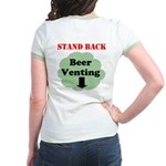 Stand Back Beer Venting T-Shirt