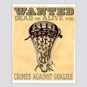 Lacrosse Wanted II Small Poster