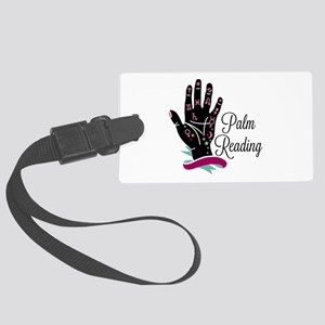 Palm Reading Luggage Tag