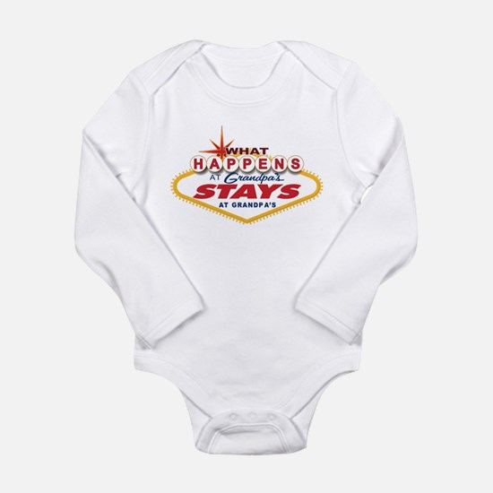 Funny Grandfather Long Sleeve Infant Bodysuit