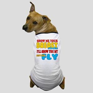 Breaststroke-Butterfly Dog T-Shirt