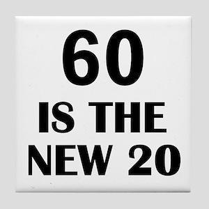 60 BIRTHDAY Tile Coaster