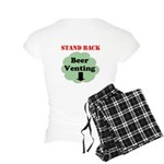 Stand Back Beer Venting Women's Light Pajamas
