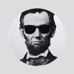 COOL LINCOLN Ornament (Round)