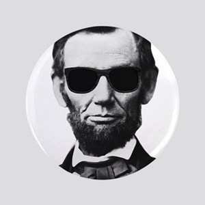 "COOL LINCOLN 3.5"" Button"