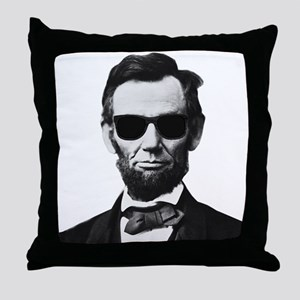 COOL LINCOLN Throw Pillow